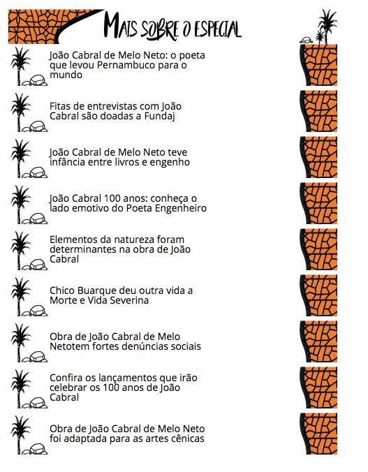 Jornal do Commercio, de Pernambuco, publica especial sobre João Cabral do Melo Neto