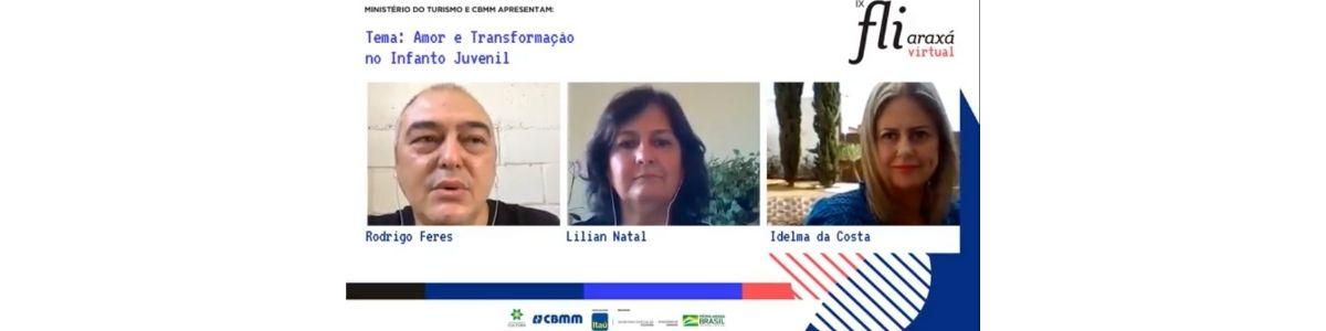 Escritoras araxaenses Lilian Natal e Idelma da Costa falam sobre amor e transformação na literatura infantojuvenil