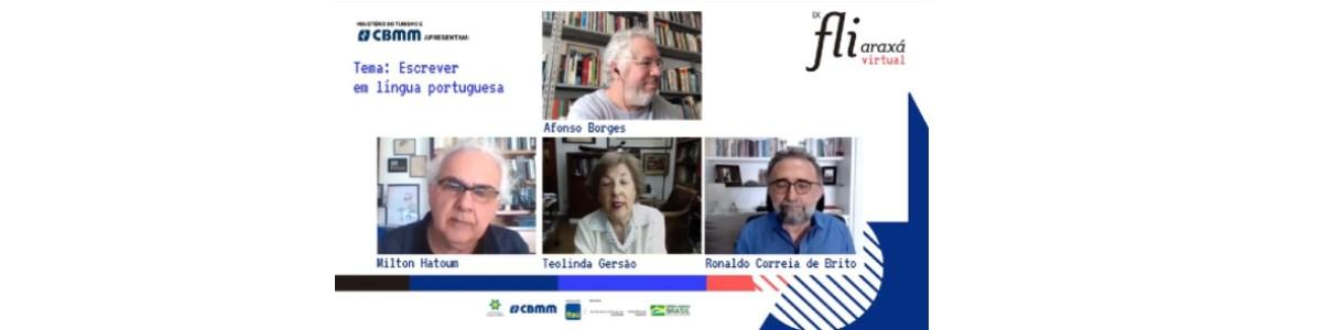 As diferenças linguísticas no encontro entre Milton Hatoum, Teolinda Gersão e Ronaldo Correia de Brito