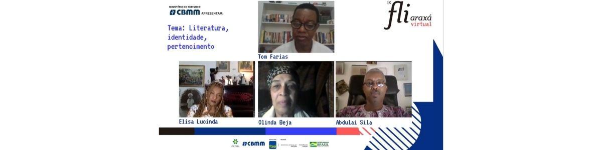 Escritores comentam compartilham experiências de literatura, identidade e pertencimento em mesa no IX Fliaraxá