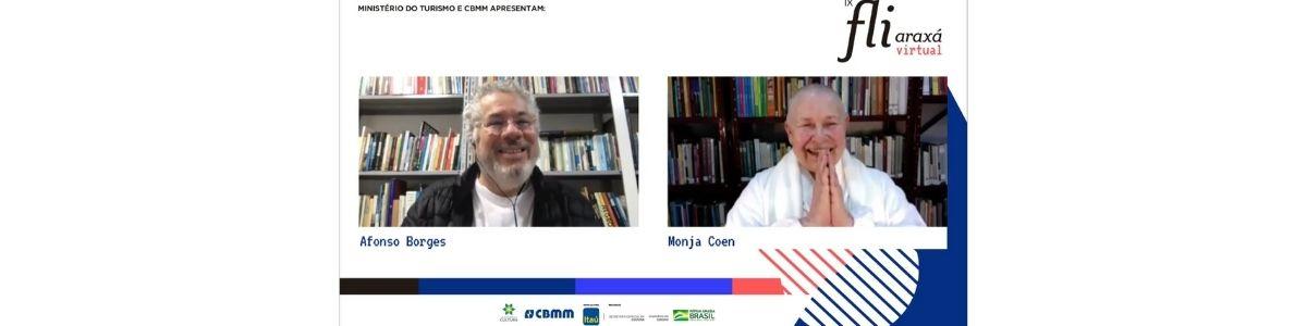 Monja Coen fala sobre o poder da paciência no primeiro dia de Fliaraxá