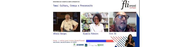 Djamila Ribeiro e Xico Sá falam sobre racismo estrutural na literatura