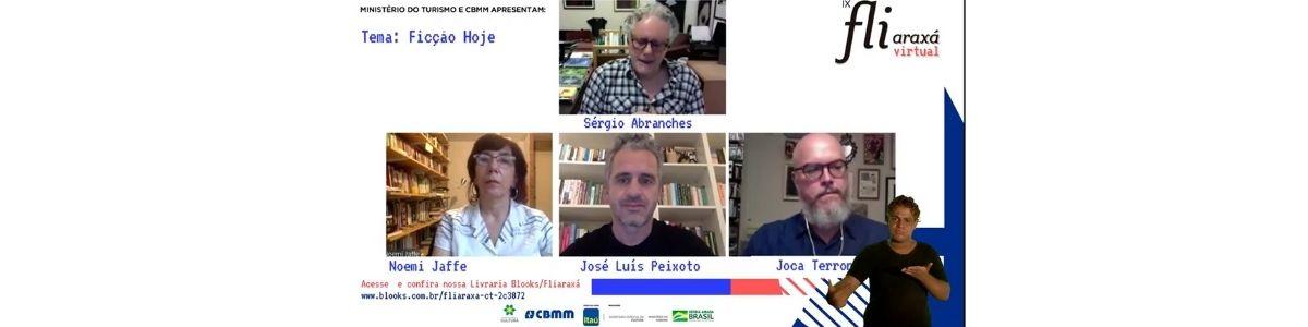 """Noemi Jaffe, José Luís Peixoto e Joca Terron refletem sobre o """"espírito do tempo"""" e o papel da ficção"""
