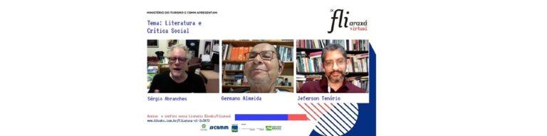 """""""Não dá para viver de literatura em Cabo Verde"""", revelou Germano Almeida em mesa sobre literatura e crítica social"""