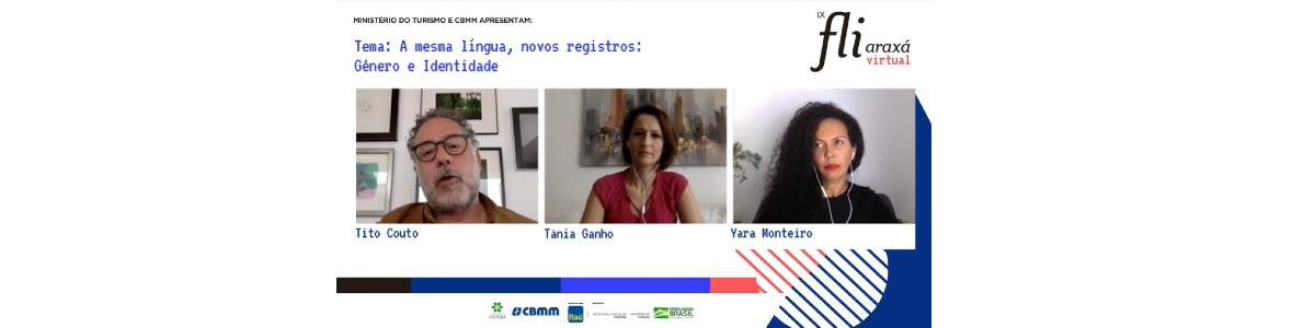 Lugar de fala, gênero e identidade na literatura foram temas de mesa com Tânia Ganho, Yara Monteiro e Tito Couto