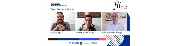 Luiz Humberto França e Simone Alves Fraga falam sobre natureza e fotografia na última mesa local do IX Fliaraxá